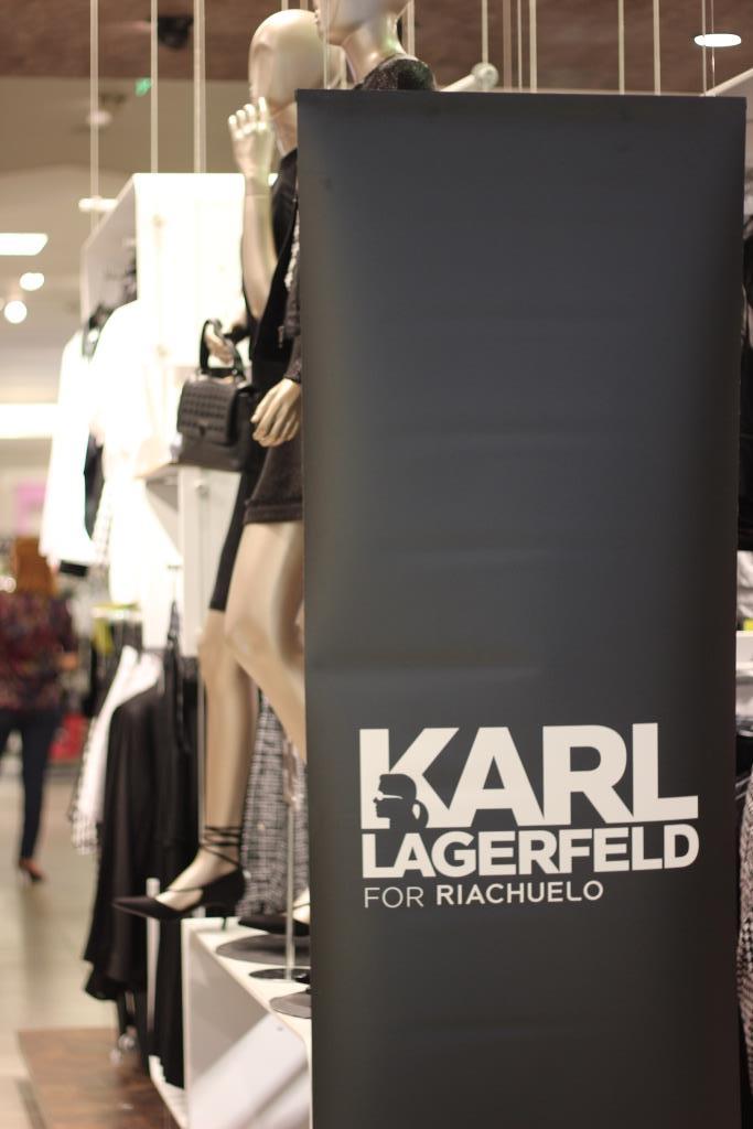 Lançamento da nova coleção do karl Lagerfeld para Riachuelo